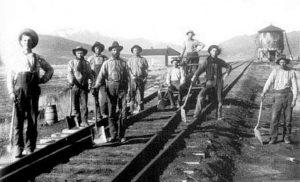 Irish-Railroad-Workers