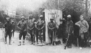369th-Regiment-Harlem-Hellfighters-Sentry-Duty-in-France