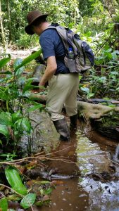Author-Jeffrey-K-Walker-in- rainforest-deep-water