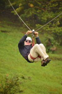 Author-Jeffrey-K-Walker-ziplines-in-Monteverde-cloud-forest