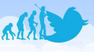 Evolution-of-man-and-tweets