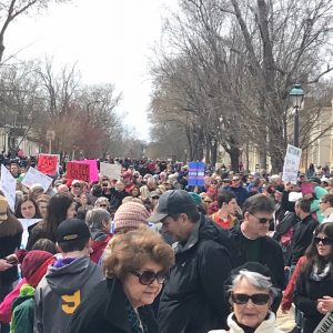March-for-our-lives-Williamsburg-Duke-of-Gloucester-Street