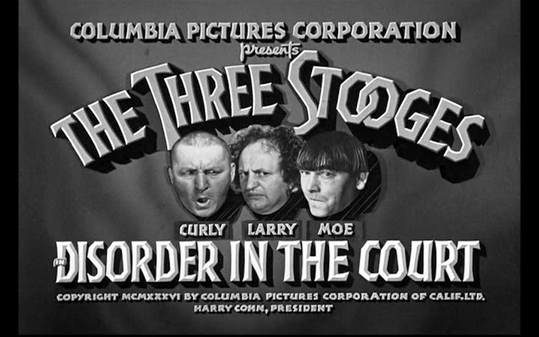 Sublimity of Stooges