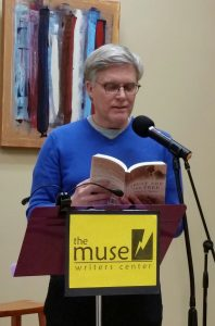 Jeffrey_K._Walker_reads_TATF_at_The_Muse_Writers_Center_20_May_18