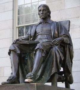 John_Harvard_statue_Harvard_University