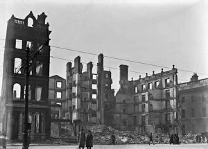 the destruction during the Easter Rising
