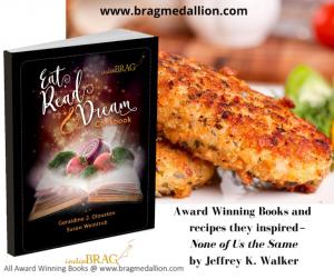 author Jeffrey K. Walker featured in a cookbook